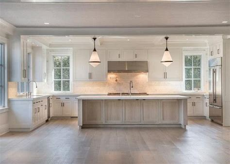 large kitchen layout ideas 17 best ideas about white oak floors on white