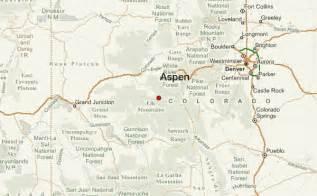 where is aspen colorado on the map aspen location guide