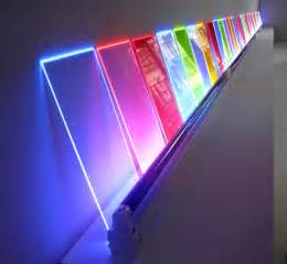 colored plexiglass light it s really cool just go look at all of it