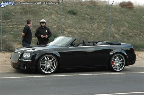 chrysler 300 convertible conversion chrysler 300 convertible west coast customs the