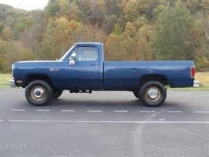 1991 Dodge Diesel Find Used 1991 Dodge Cummins Diesel 5 Speed 4x4 In