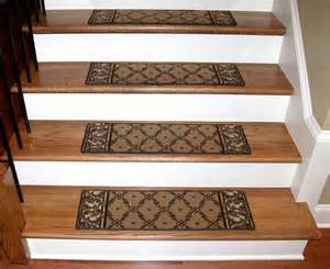 All Stair Treads by Washable Carpet Stair Treads Trellis Beige