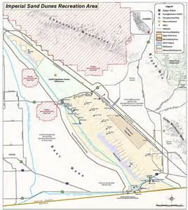 california sand dunes map imperial sand dunes recreational areas mammoth wash