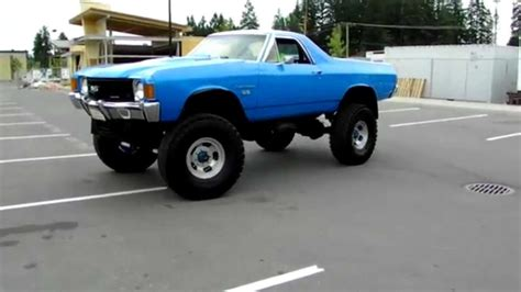 el camino lifted 1972 el camino 4x4 beverly corners show shine 2012 youtube