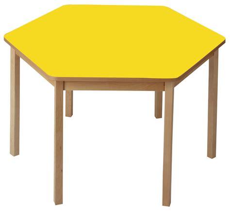 Hexagonal Table by Stretton Hexagonal Table Wooden Furniture