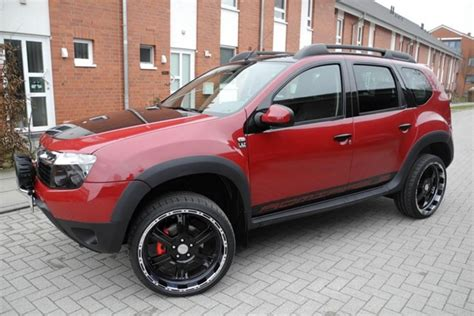renault lodgy modified lzparts modified renault duster looks more attractive