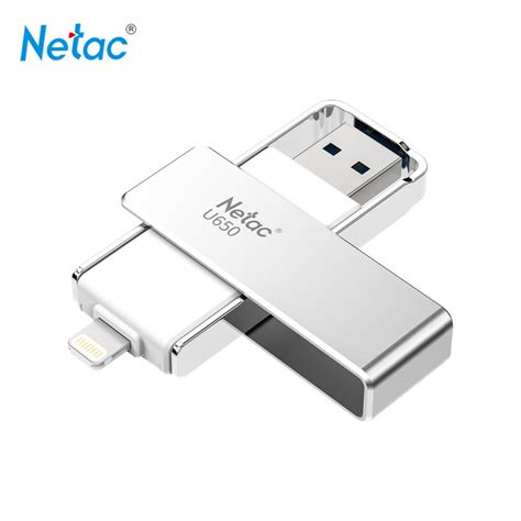 Usb Otg Di Pasaran מוצר netac original u650 lightning otg usb flash drive