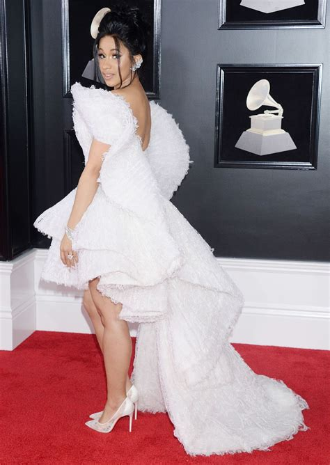 Dress Cardi cardi b dresses up in a theatrical dress for the 2018