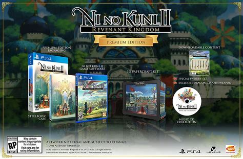Ni No Kuni Ii Revenant Kingdom Collector Edition Ps4 ni no kuni ii collector s edition pre order live