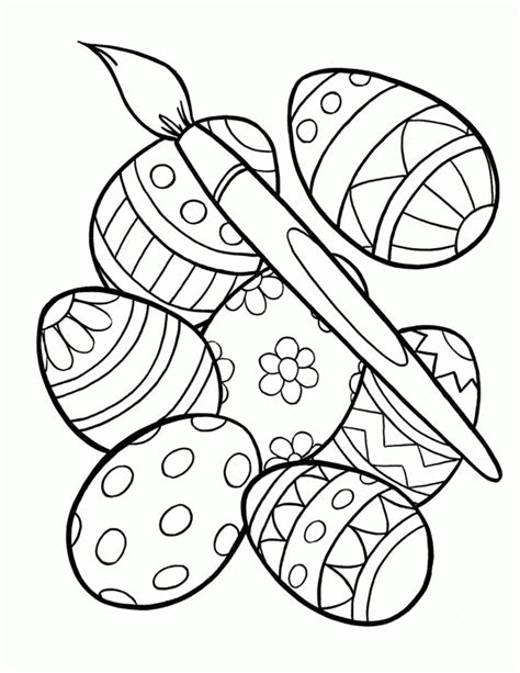 easter coloring pages for kindergarten preschool easter coloring pages coloring home