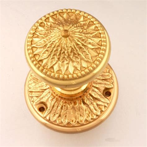 brassart 221 early georgian door knobs brass bronze