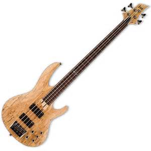 bass guitar esp ltd b 204 sm fretless satin at gear4music