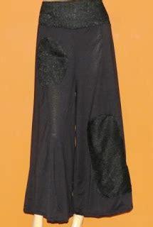 Idp Hitam celana kulot brokat ck175 grosir baju muslim murah tanah