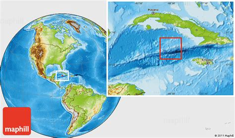 cayman islands in world map flag location map of cayman islands physical outside