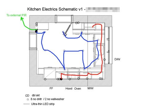 kitchen electrical layout kitchen lighting and electrics style within