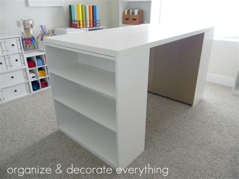 craft table with storage make your own diy craft table using inexpensive pieces