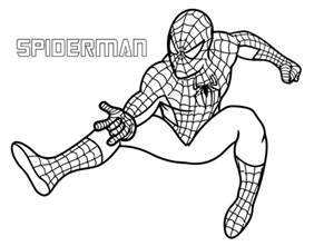 superhero coloring pages koloringpages