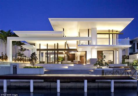 House Design Cost Uk australia s best designed family home river house cost over