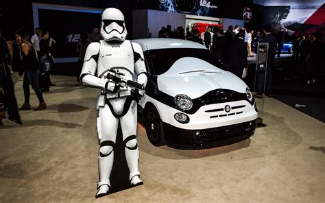 Star Wars Auto by Fiat 500e Stormtrooper En Honor A Star Wars Lista De Carros