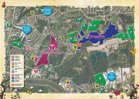 tomorrowland belgium map location tomorrowland
