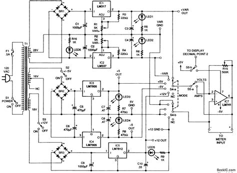 bench power supply circuit bench power supply power supply circuit circuit