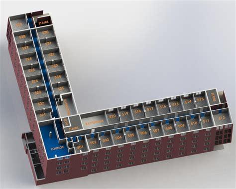 Ada Floor Plans cauthorn hall university housing amp dining services