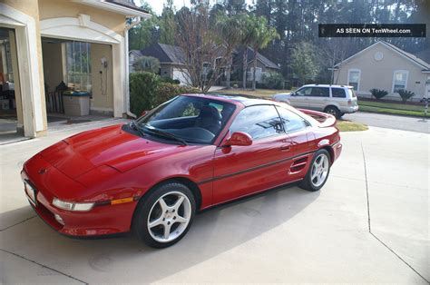 1991 toyota mr2 turbo two door coupe