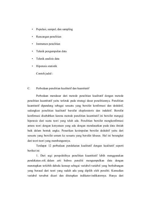 perbedaan format makalah dan format skripsi contoh judul penelitian kuantitatif dalam keperawatan