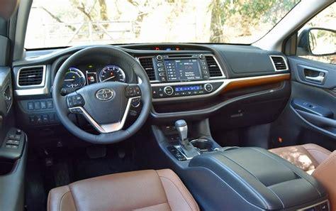toyota highlander 2017 interior 2018 toyota highlander review interior release date
