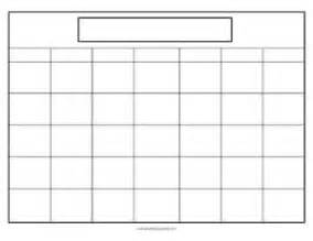 blank calendar month template calendar printables teaching squared