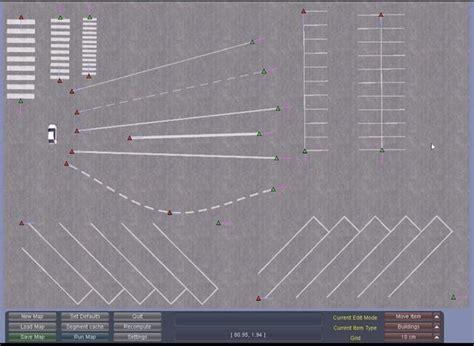 building map maker new building lines parking 01 truck scs software