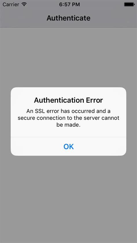 xamarin auth facebook xamarin auth ios9 authentication ssl error
