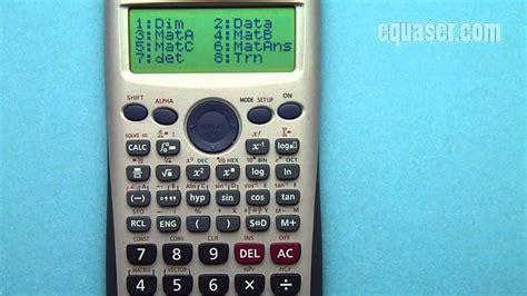tutorial casio fx 991es casio fx 115es plus fx 991es plus c and fx 991es how to