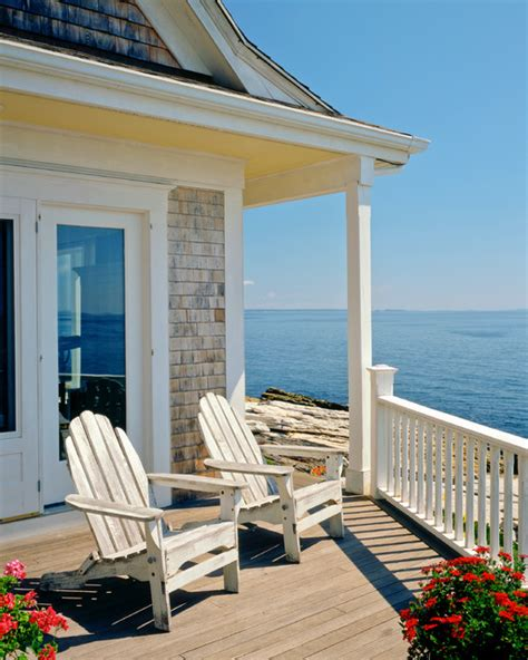 Point Cottage by Indian Point Cottage Traditional Porch Portland