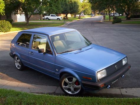 volkswagen golf 1987 fortworthcustoms 1987 volkswagen golf specs photos
