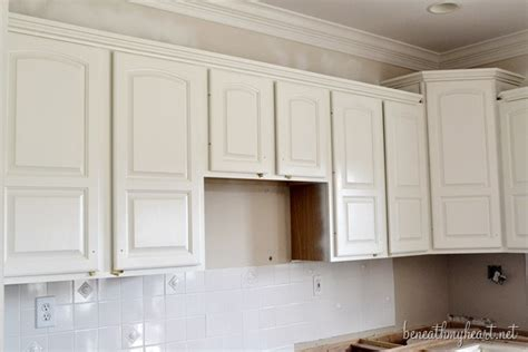 Painting Kitchen Cabinets White by Painting Kitchen Cabinets White Beneath My
