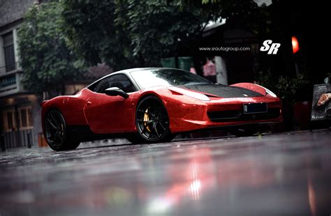 chrome ferrari 458 red chrome ferrari 458 italia on pur wheels autoevolution
