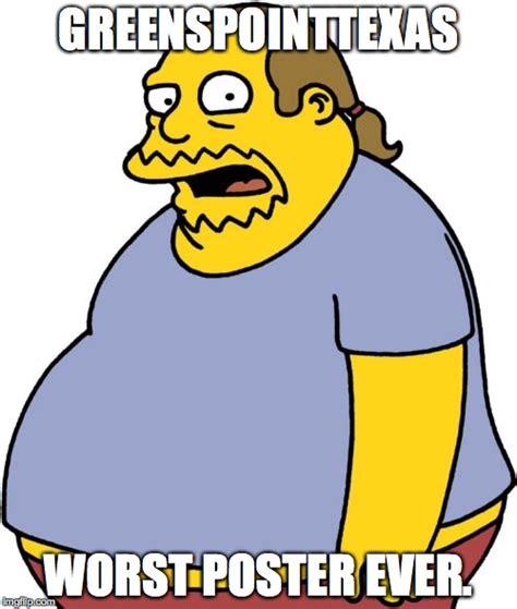 Comic Book Guy Meme - comic book guy meme imgflip