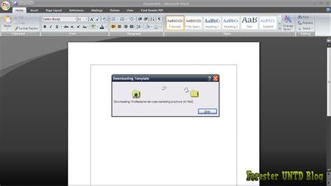 membuat brosur dengan ms word 2013 cara membuat brosur dengan ms word online forester untad