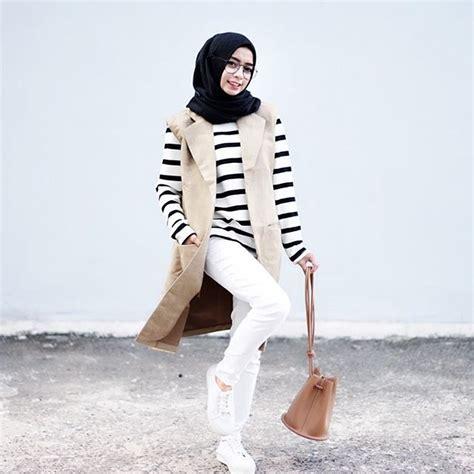 21  Model Baju Hijab Usia Remaja Yang Trendy Fashionable 2019