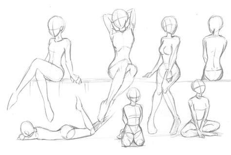 Anime Sitting Outline by Stash Gyzra Sitting Scan2 Image 3828497 By Bobbym On Favim