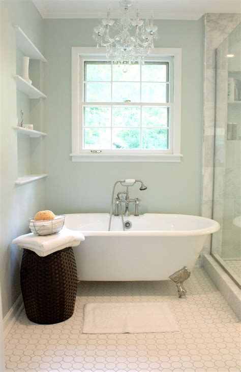 bathrooms with clawfoot tubs benign objects our calm and clean master bath renovation