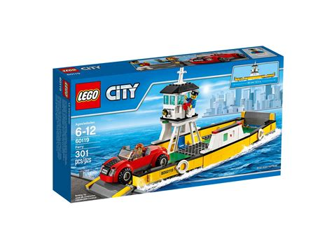 Lego 60119 Ferry City lego 60119 city ferry official images posted to lego site