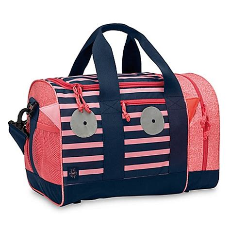 Lassig 4kids Mini Backpack Mad Mabel lassig monsters mad mabel mini duffle bag in pink blue buybuy baby