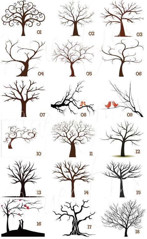 tree pattern pinterest arbol huellas imprimible recuerdo boda xv a 241 os 100 00