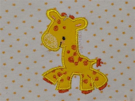 giraffe applique giraffe applique free embroidery design applique