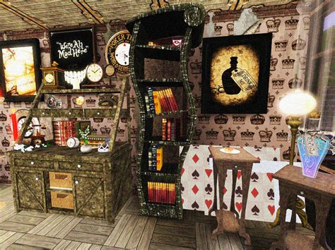 Alice in wonderland home decor office and bedroom photos of alice in wonderland room decor