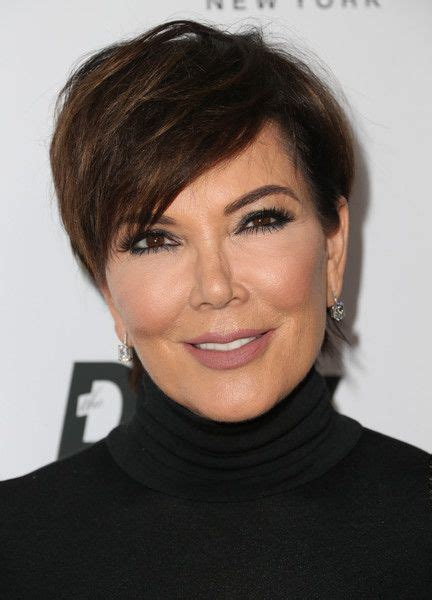 what is kris jenner hair color kris jenner messy cut punk chic kris jenner and short