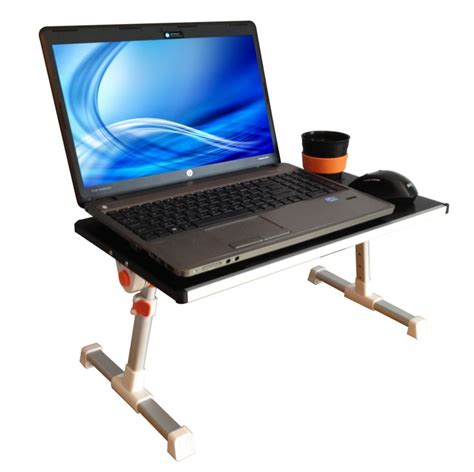 Small Stand Up Desk Traveler Folding Stand Up Desk Adjustable Desk Small Travel Size Black Silver Blue
