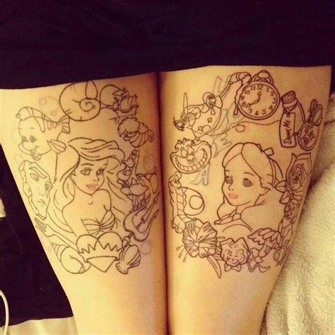 disney character tattoo designs disney tattoos disney tattoos